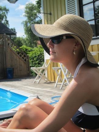 130706 Ny bikini & sommar vid poolen