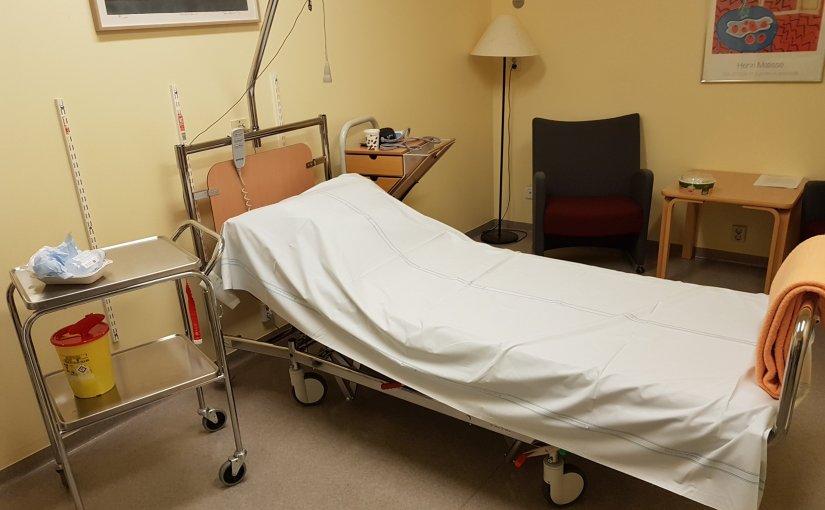 Mycket sjukhus för och runt mignu